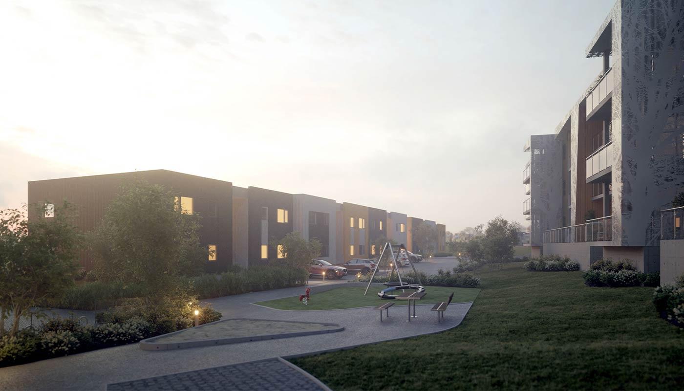 Skadbergparken B3 uteområde